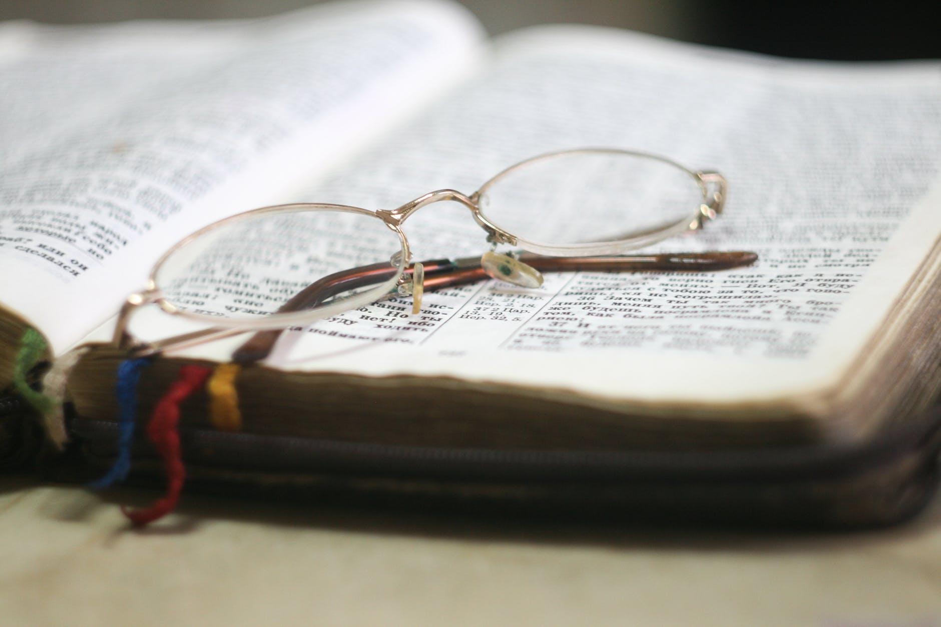 bible blur book christian