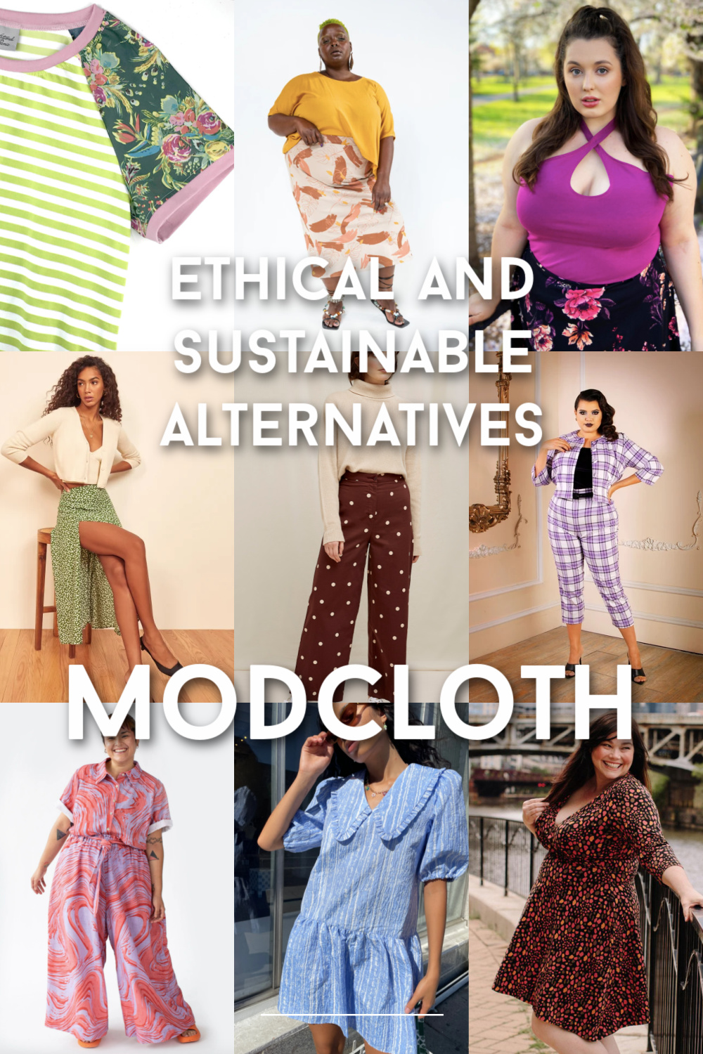Ethical and sustainable alternatives to modcloth