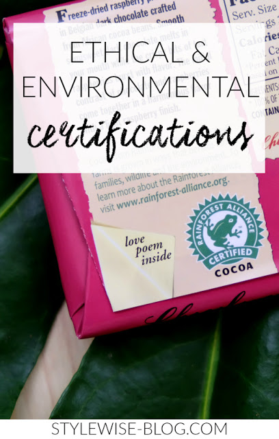 A Quick Guide to Ethical and Environmental Certifications stylewise-blog.com - Ethical and Environmental Fashion Certifications