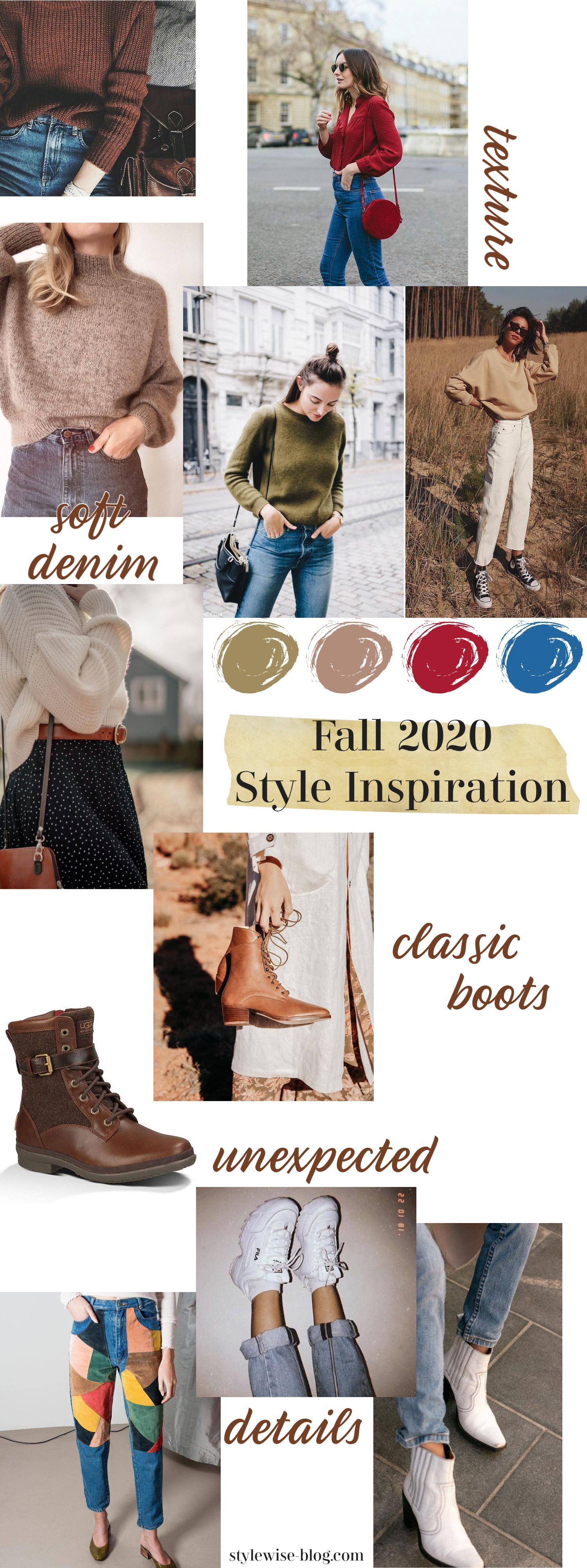 sustainable fashion fall 2020 style inspiration