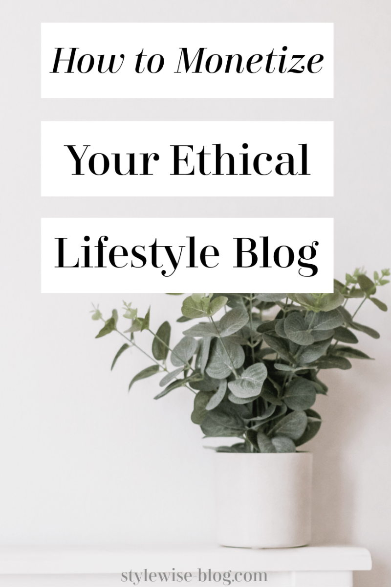 ethical and sustainable blogging guide