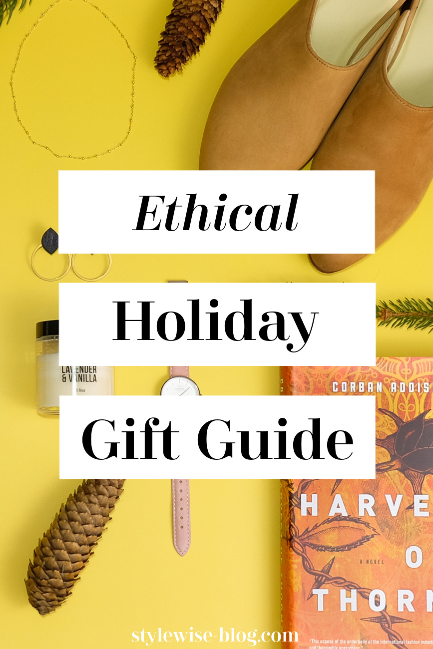 sustainable holiday gift guide