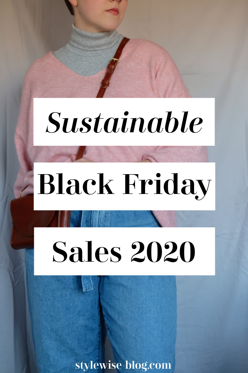 sustainable black friday sales 2020