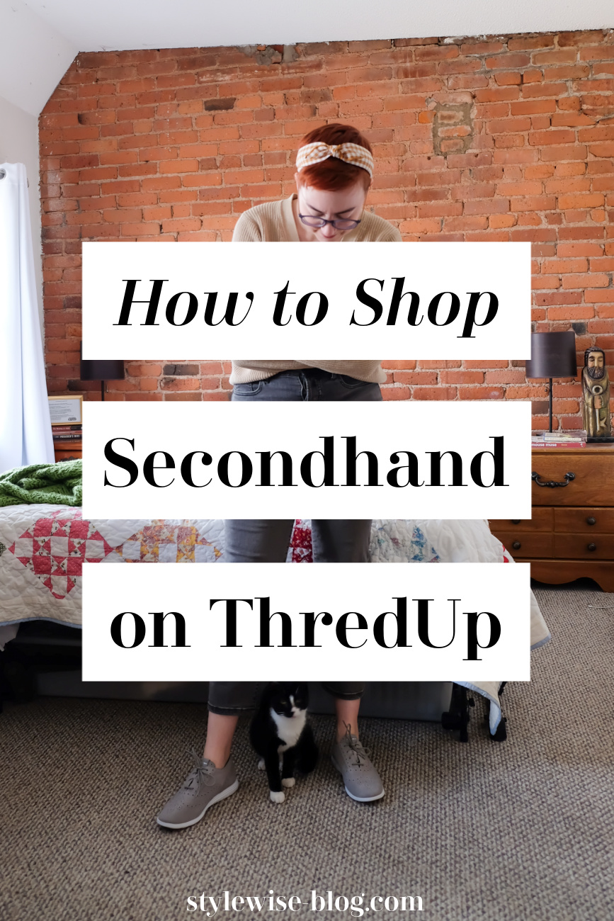 shop secondhand on thredup