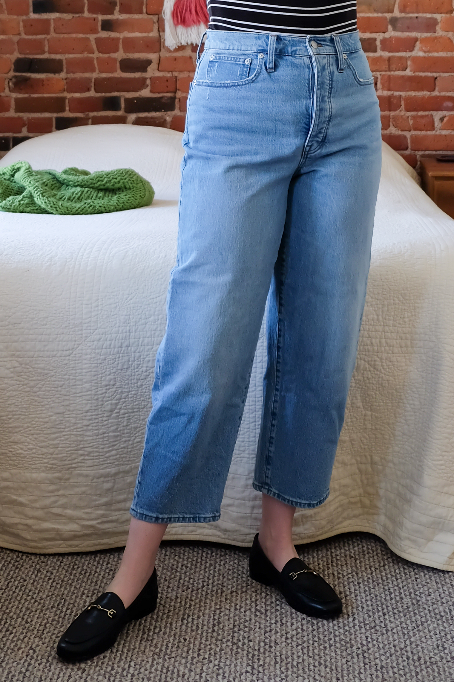 Madewell Balloon Jeans Review