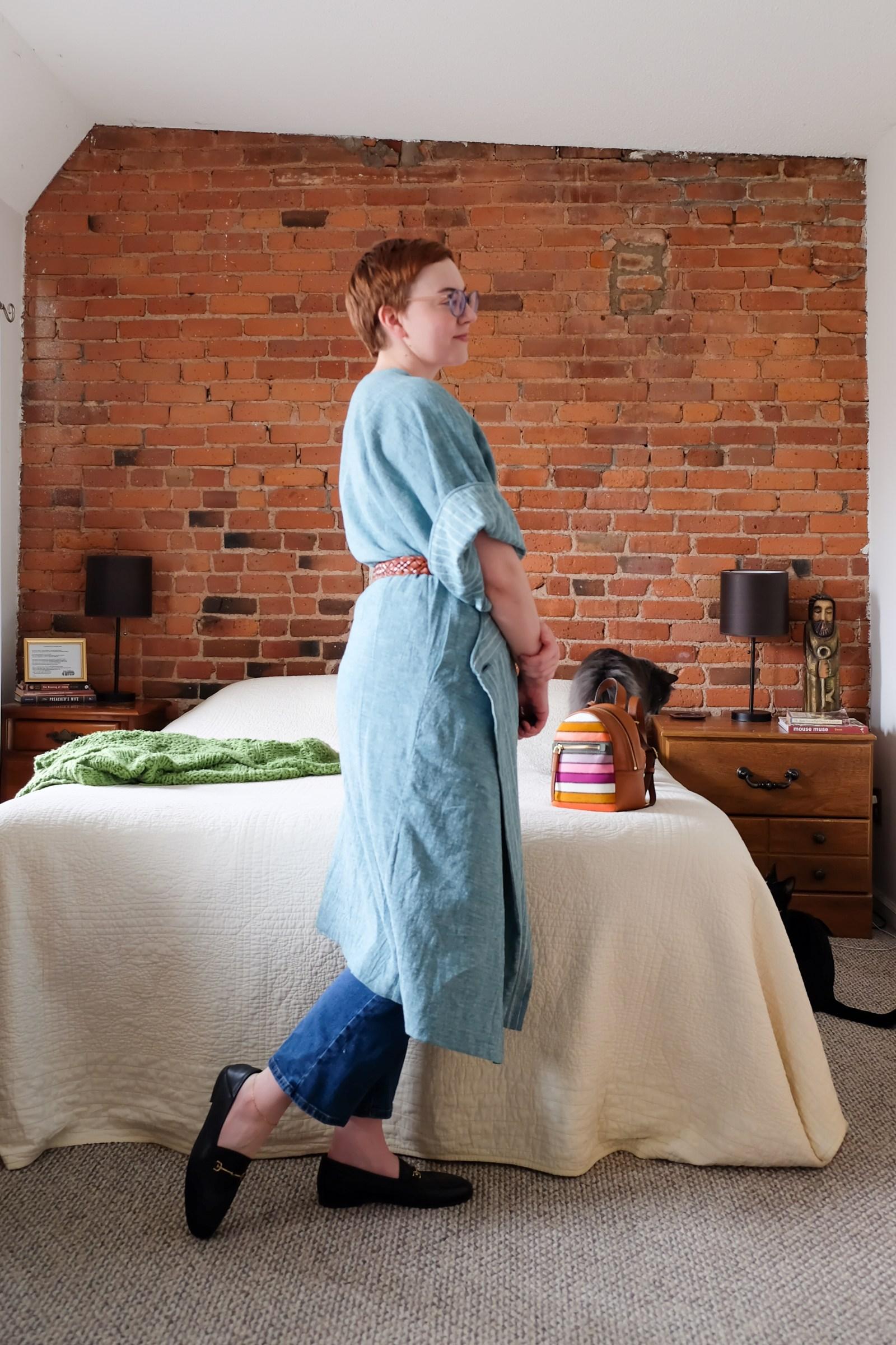 fig nine Wrap Dress Styling