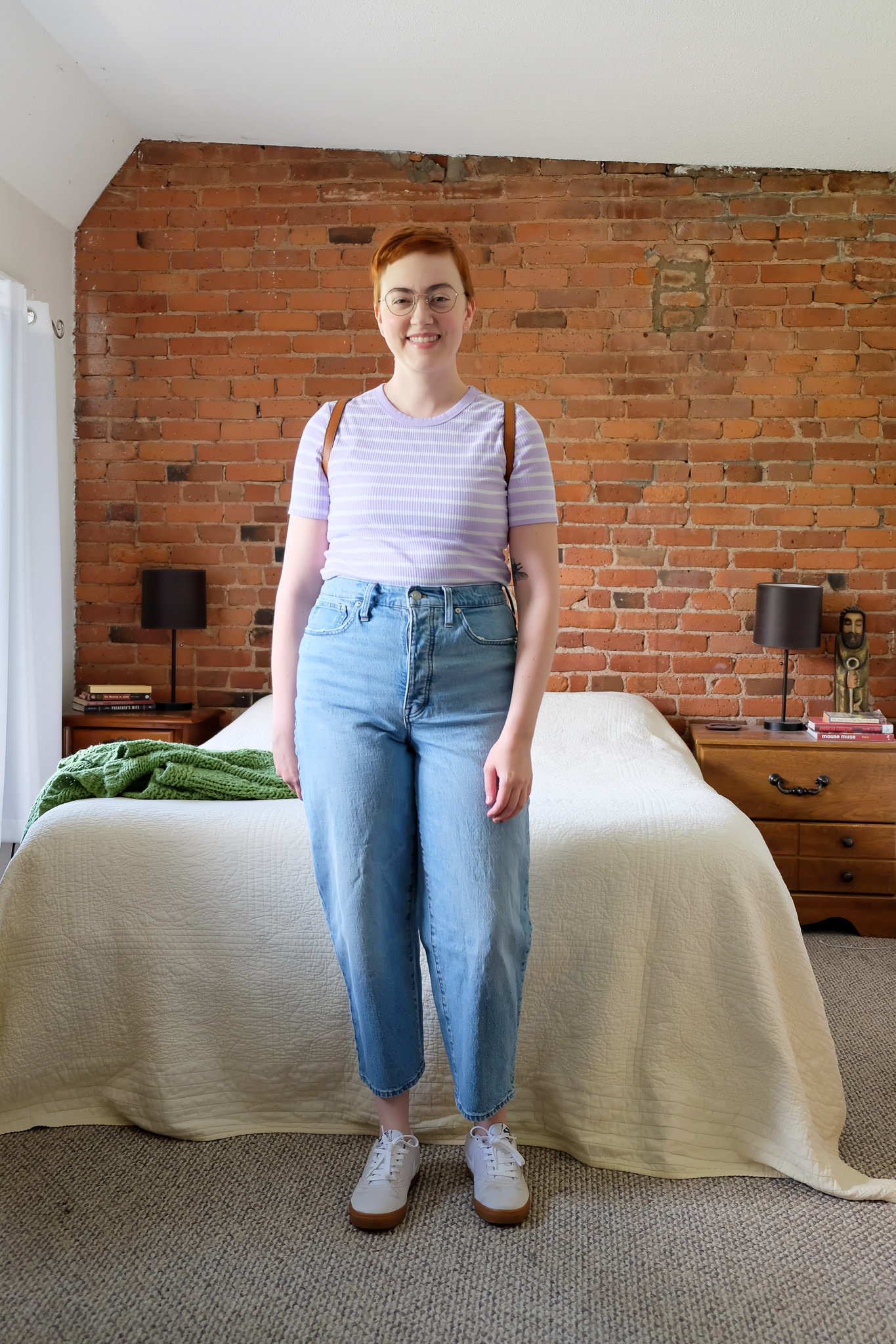 Thoughtful Summer Outfits Roundup - Madewell balloon jeans