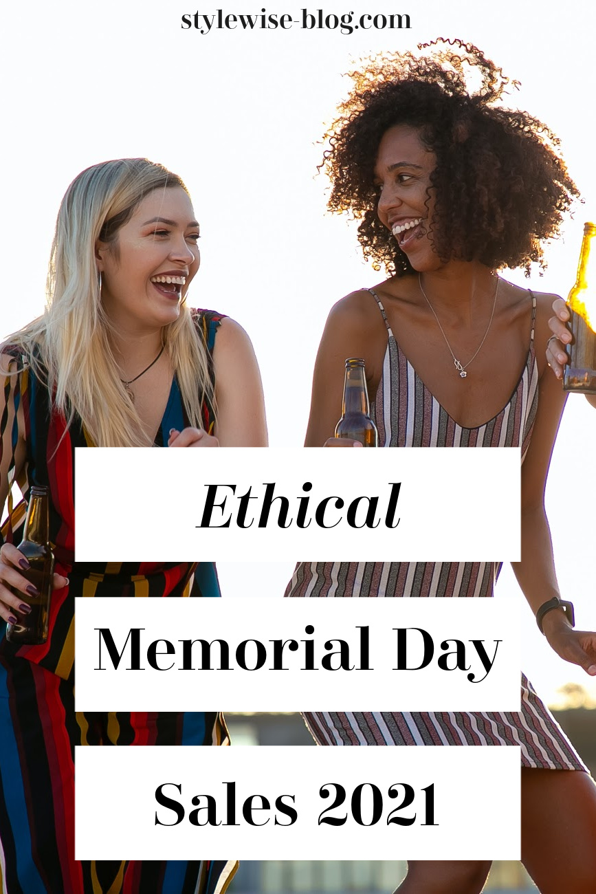 ethical and sustainable memorial day sales
