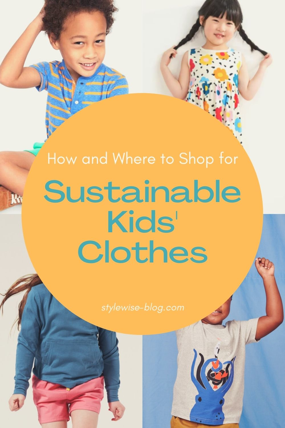 where to shop sustainable kids clothes