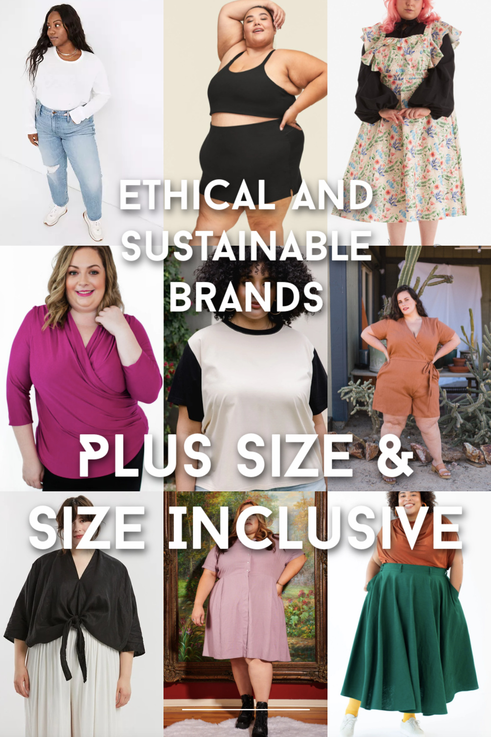 Plus Size Sustainable Brands