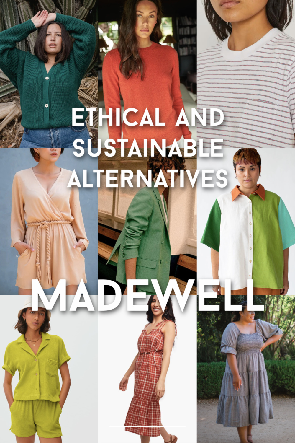 Ethical and sustainable alternatives to Madewell