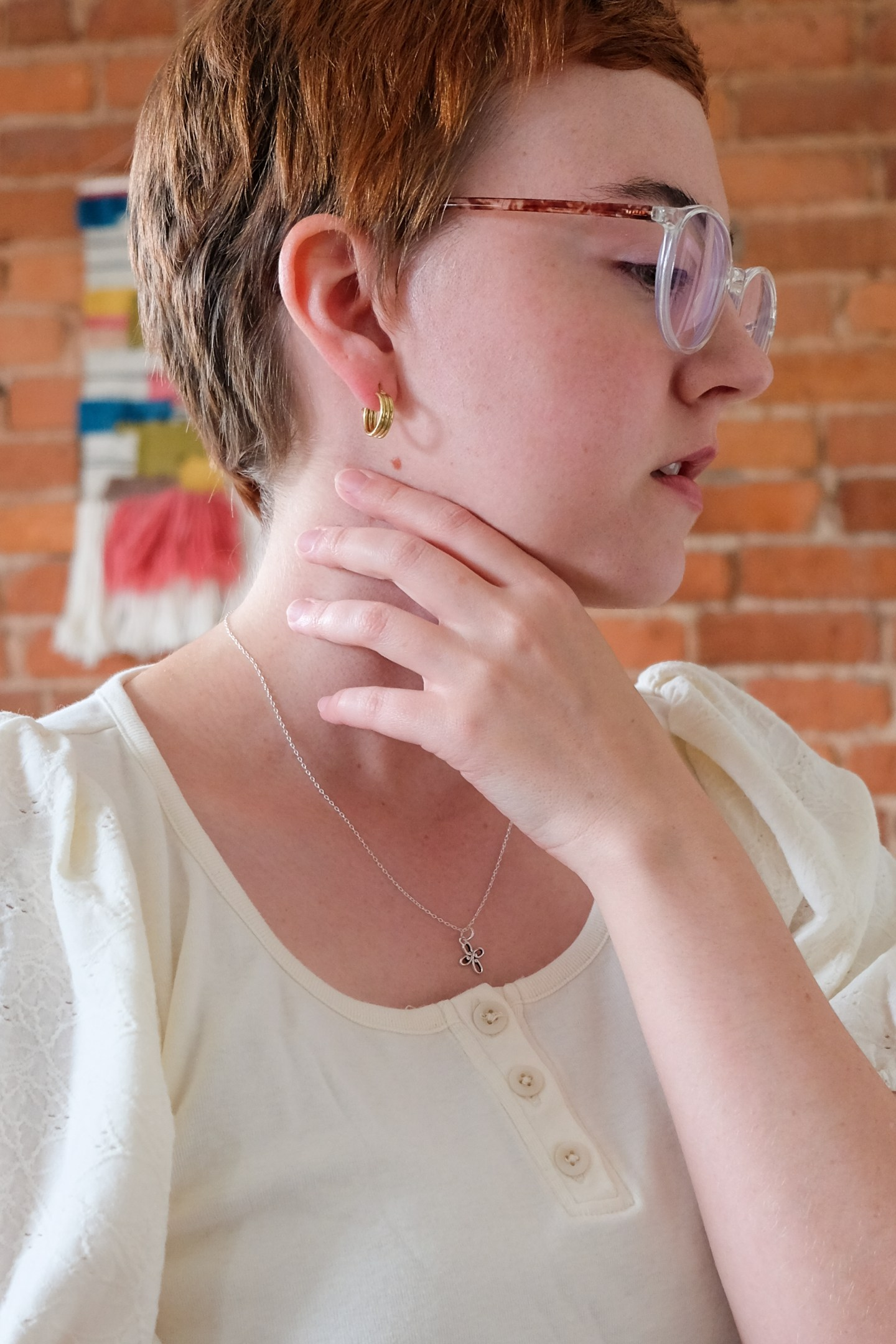 Blooh's Ethical Brass Hoops